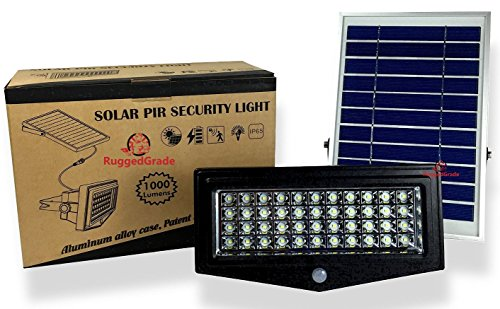 RuggedGrade 	24-114 - LED Solar Flood Light