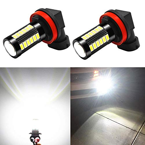 Alla Lighting H16 H8 H11 LED Fog Lights Bulbs LED DRL