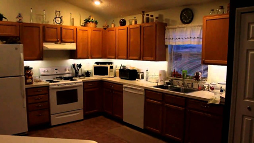 How To Install Under Cabinet Led Lighting