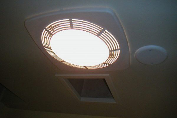 Cleaning Shower Exhaust Fan with Light